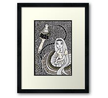 Who are You ? Framed Print
