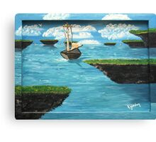 Strange Islands......................... Canvas Print