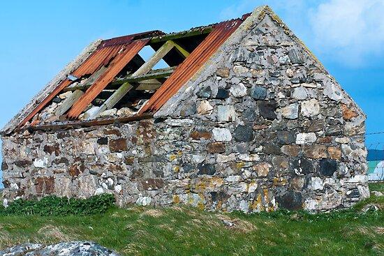 Building, Byre, Barn, Abandoned by Hugh McKean