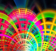 Laser Light Show by Virginia N. Fred