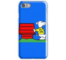 PIT COOL PIT BULL LOGO BY URB SUB iPhone Case/Skin