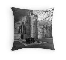 King's College Chapel, Aberdeen University Throw Pillow