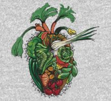 Vegetables are good for your heart Kids Tee