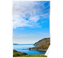 Landscape, Maclean`s Nose, Loch Sunart, Ardnamurchan, Scotland Poster