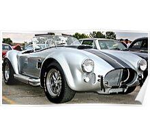 Classic Cobra Hot Rod Poster