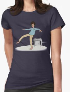 Dancing to the Music Womens Fitted T-Shirt