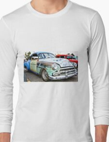 Classic American Hot Rod Long Sleeve T-Shirt
