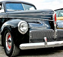 Classic Black Studebaker by Amy McDaniel