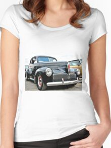Classic Black Studebaker Women's Fitted Scoop T-Shirt