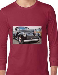 Classic Black Studebaker Long Sleeve T-Shirt