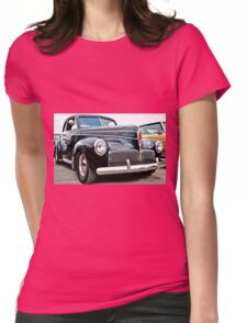 Classic Black Studebaker Womens Fitted T-Shirt