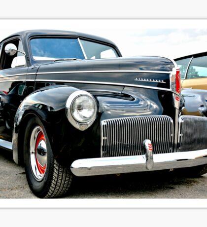 Classic Black Studebaker Sticker