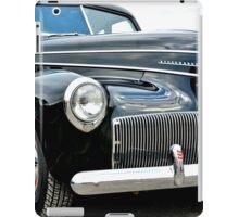 Classic Black Studebaker iPad Case/Skin