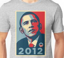 Obama 2012 Election Poster T-Shirt Unisex T-Shirt