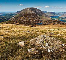 Ennerdale, Haystacks & Buttermere, Cumbria. UK by David Lewins