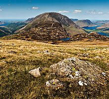 Ennerdale, Haystacks & Buttermere, Cumbria. UK by David Lewins