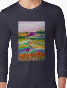Tuscan countryside Long Sleeve T-Shirt