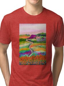 Tuscan countryside Tri-blend T-Shirt