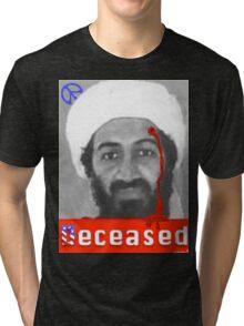 no mo osama Tri-blend T-Shirt