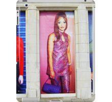 Mod fashion posters iPad Case/Skin
