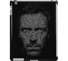 House MD made with text iPad Case/Skin