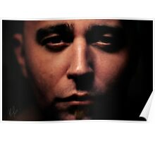 Deeper Eyes - Henrik Malmborg Self Portrait IV Poster