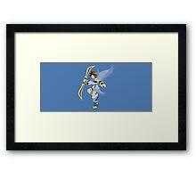 Pit (Blue) - Super Smash Bros. Framed Print