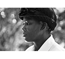 strength & humility - the jamaican woman. Photographic Print