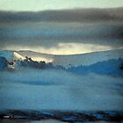 Kenneday Peak Snowy Sunrise by Lenore Senior