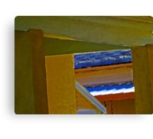 House Abstract Canvas Print