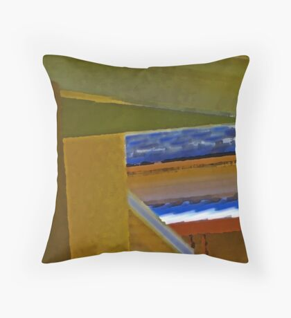 House Abstract Throw Pillow