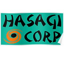 Hasagi Corporation by Yasuo Poster