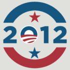 Obama 2012 Election T-Shirt by Greg B