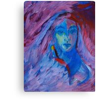 Young Hippie Canvas Print