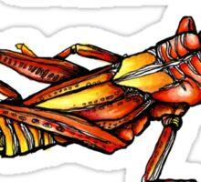 Just a Little Grasshopper Sticker