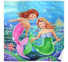 Little Mermaids Poster