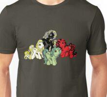 Four Little Ponies of the Apocalypse Unisex T-Shirt