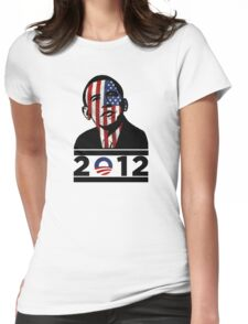 Obama 2012 Election American T-Shirt Womens Fitted T-Shirt