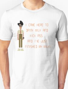 The IT Crowd – I Came Here to Drink Milk and Kick Ass T-Shirt