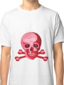 Skulduggery Red on White Classic T-Shirt
