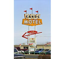 Route 66 Sands Motel Photographic Print