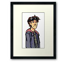 Jasper Jordan - The 100 Framed Print