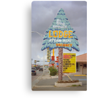 Route 66 - Blue Spruce Lodge Canvas Print