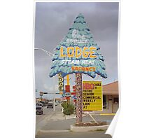 Route 66 - Blue Spruce Lodge Poster