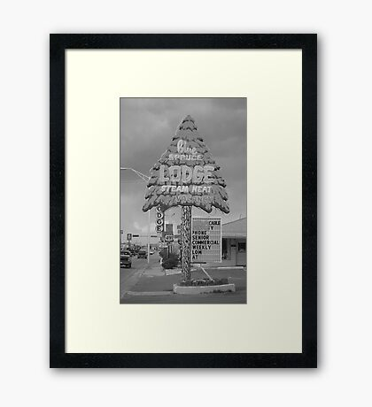 Route 66 - Gallup, New Mexico Framed Print