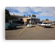 Route 66 - El Rancho Hotel Canvas Print