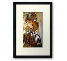 Loretto Chapel Staircase Framed Print