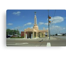 Route 66 - Conoco Tower Station Canvas Print
