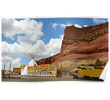 Route 66 Trading Post Poster