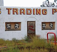 Route 66 - Twin Arrows Trading Post by Frank Romeo
